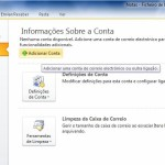 Outlook 2010 - Email Gratuito Portugalmail 1
